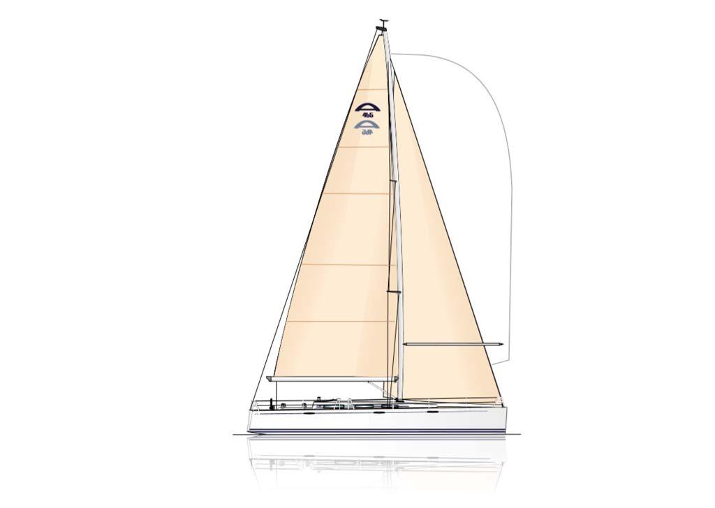 arcona 465 zeilboten sail v2